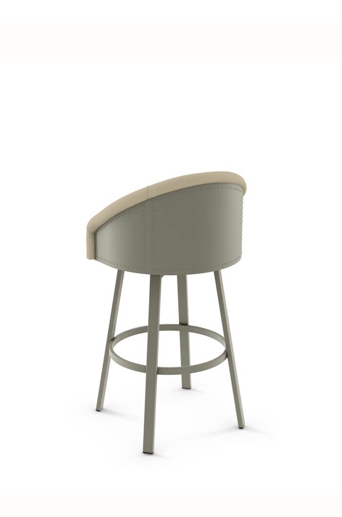 Amisco Fresno Upholstered Seat Amp Back Swivel Stool Free