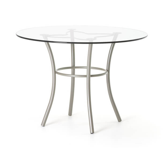 Lotus Round Glass Dining Table