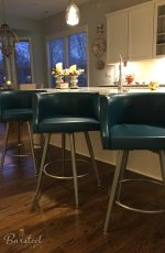 [Featured Customer Kitchen] Metal Finish: 57 Metallo • Seat & Back Cushion: DB Oyster