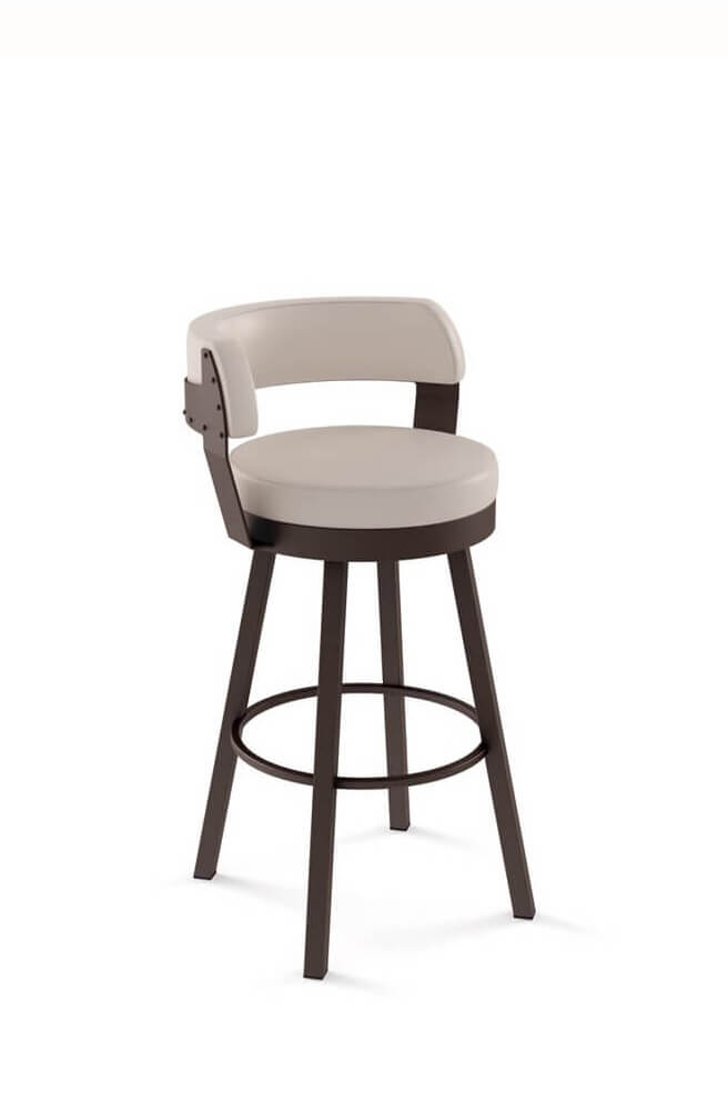 low back bar stool amisco ronny swivel stool free shipping barstool comforts 7184