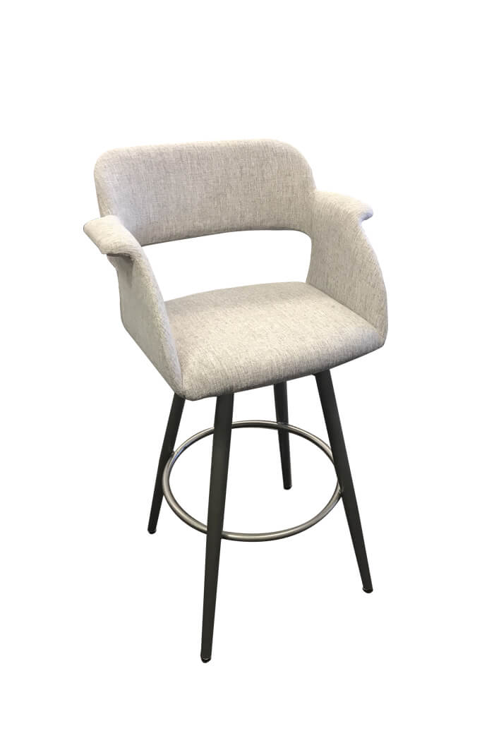 Amisco Sorrento Swivel Stool Modern Amp Comfortable Free