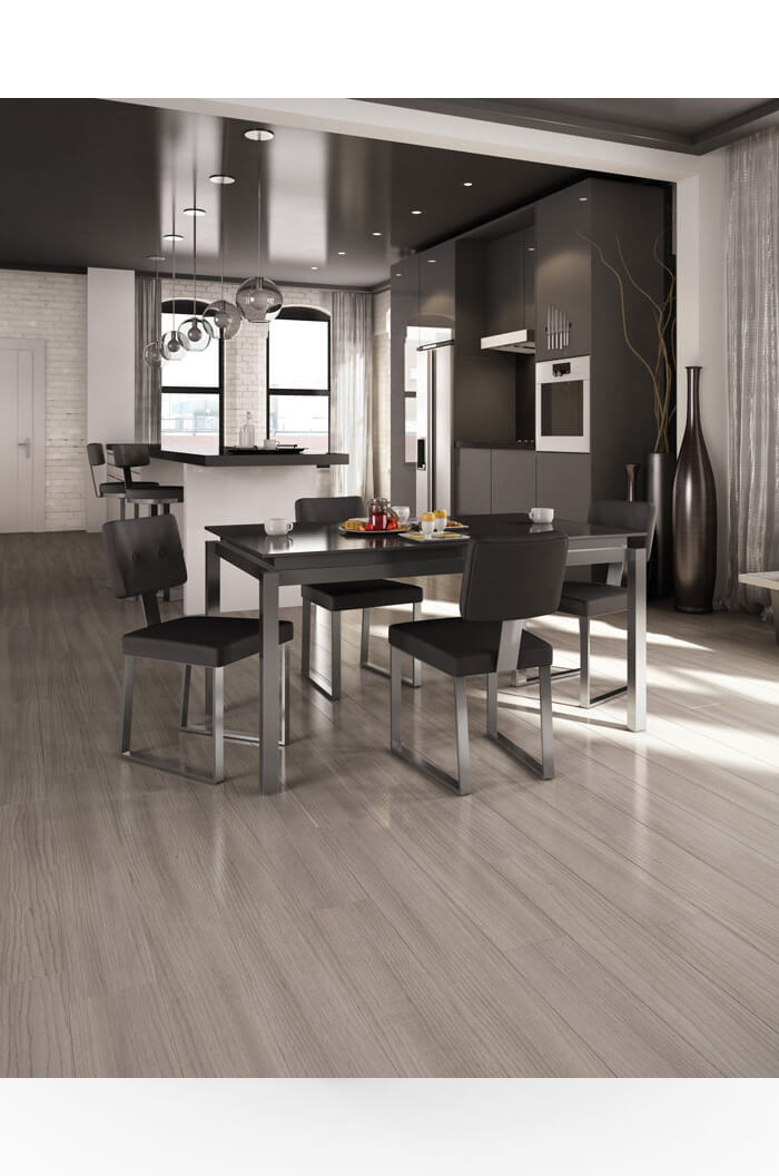 Amisco Empire Stationary Chair In Modern Dining Room