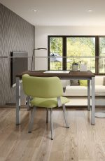 Amisco's Easton Dining Chair in Modern Office