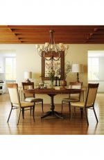 Amisco Eleanor Dining Chair in Country Modern Dining Room