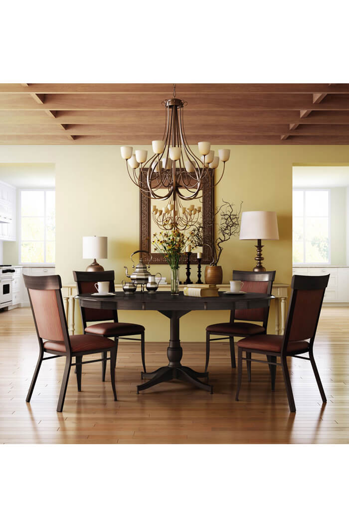 ... Amisco Eleanor Dining Chair In Country Living Room ...