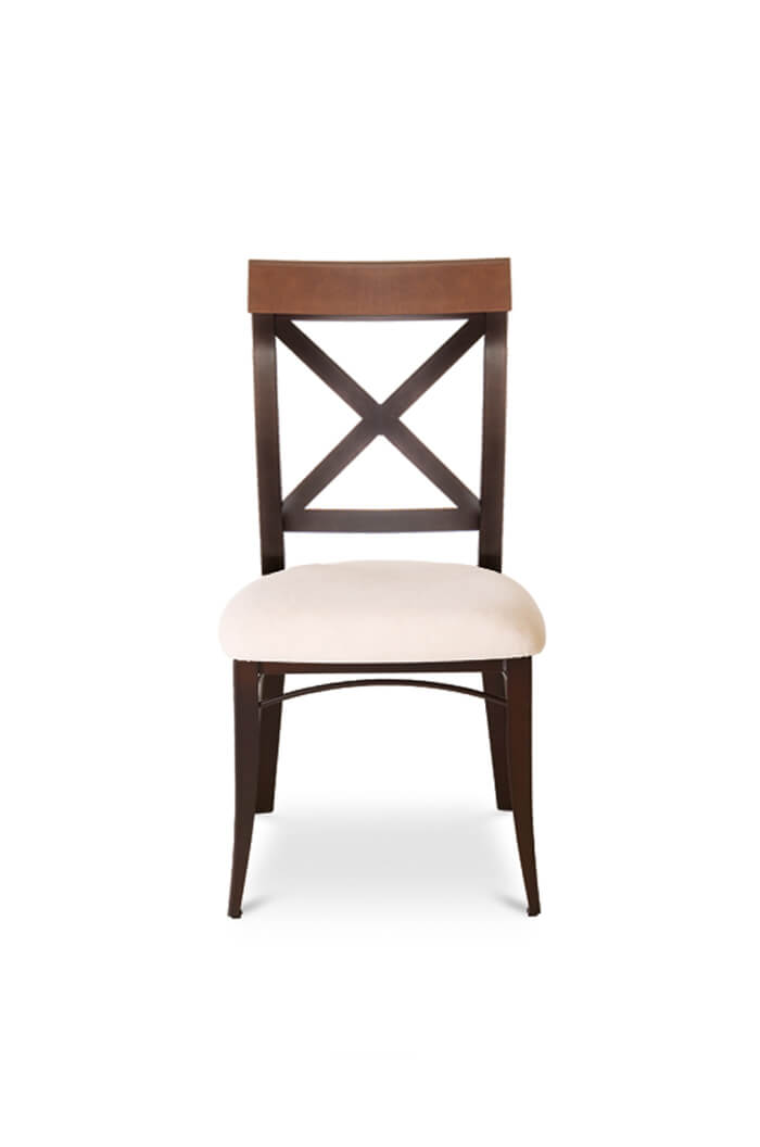 Amisco Kyle Dining Chair W Cross Back Free Shipping