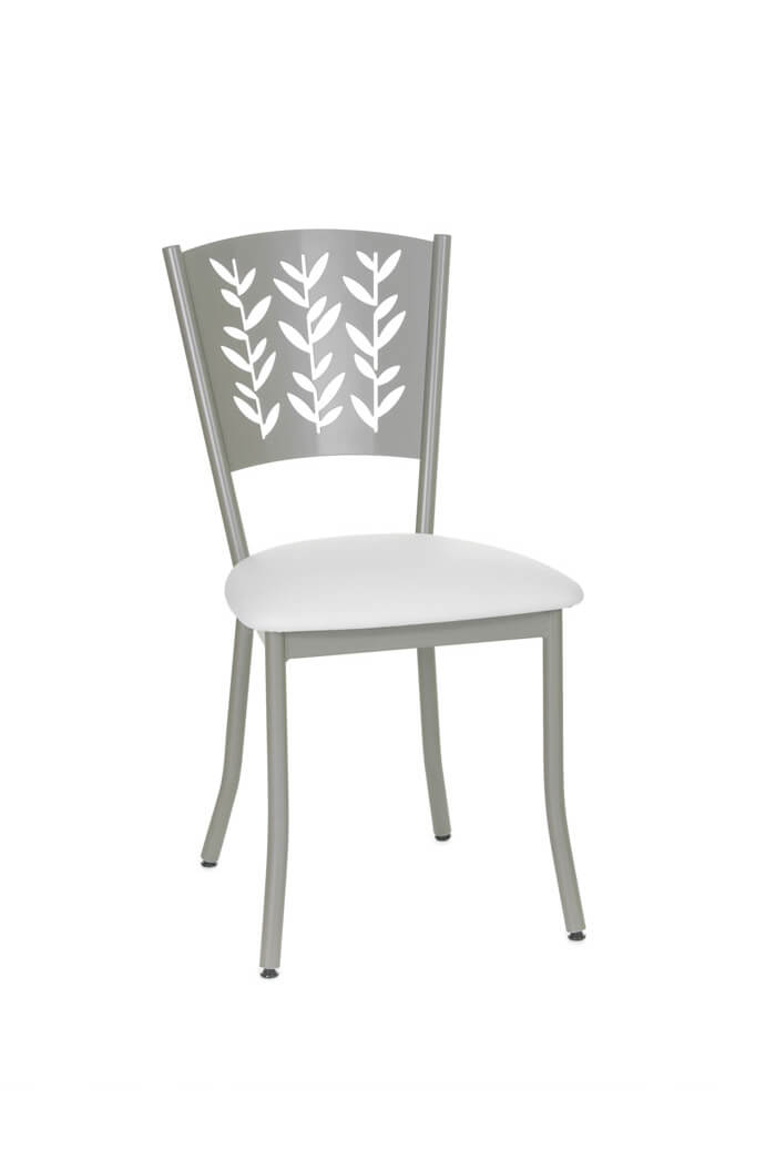 Amisco Mimosa Dining Chair with Leaf Design Back