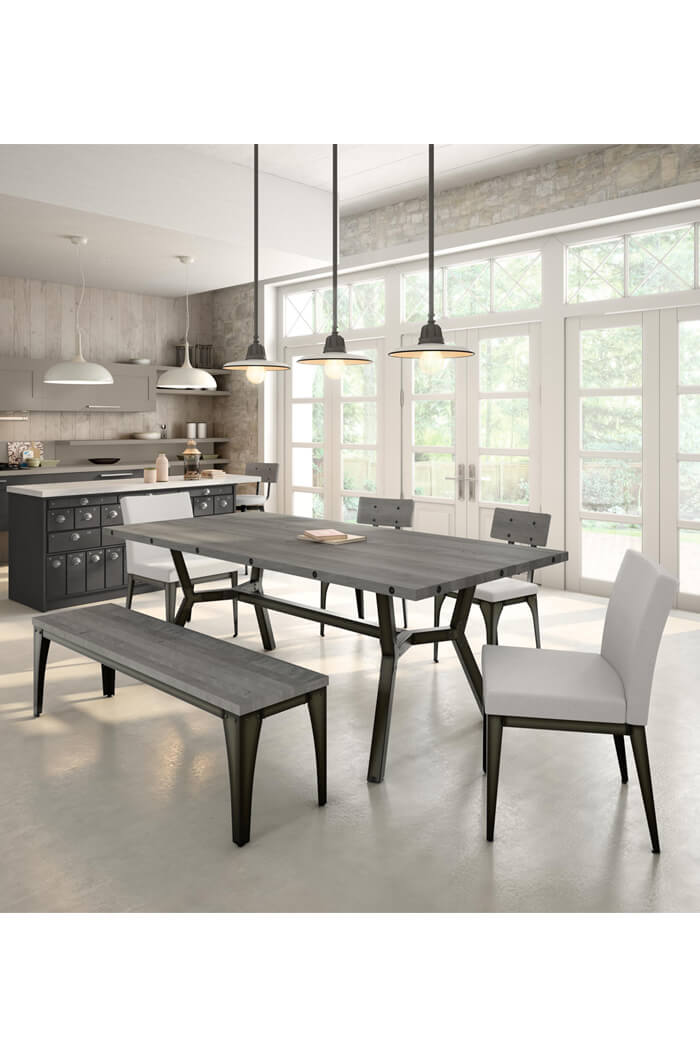 Take A Bite Out Of 24 Modern Dining Rooms: Amisco Pablo Modern Armless Dining Chair