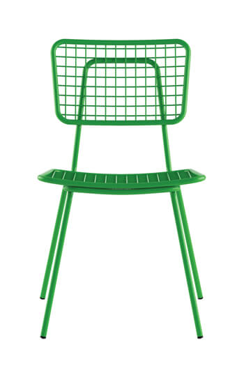 ... Grand Rapids Opla Armless Chair In Green ...