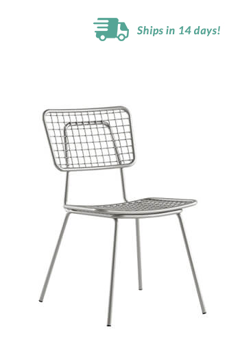 Grand Rapids Opla Outdoor Chair in Silver Gray