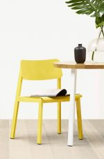 Grand Rapids Sadie Outdoor Chair in Yellow