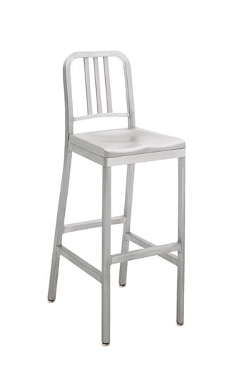 ... Grand Rapids Siren Outdoor Stool with Aluminum Frame and Seat ...  sc 1 st  Barstool Comforts & Siren Outdoor Patio Barstool in Brushed Aluminum - Customize! islam-shia.org