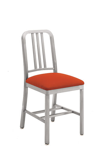Grand Rapids Siren Aluminum Outdoor Chair with Seat Cushion