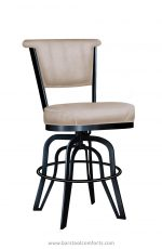 Lisa Furniture's #2546 Armless Tilt Swivel Bar Stool