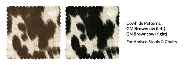 Cowhide Upholstery Patterns by Amisco