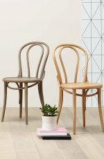 Grand Rapids Bentwood No. 18 Dining Chairs in Natural Wood Colors