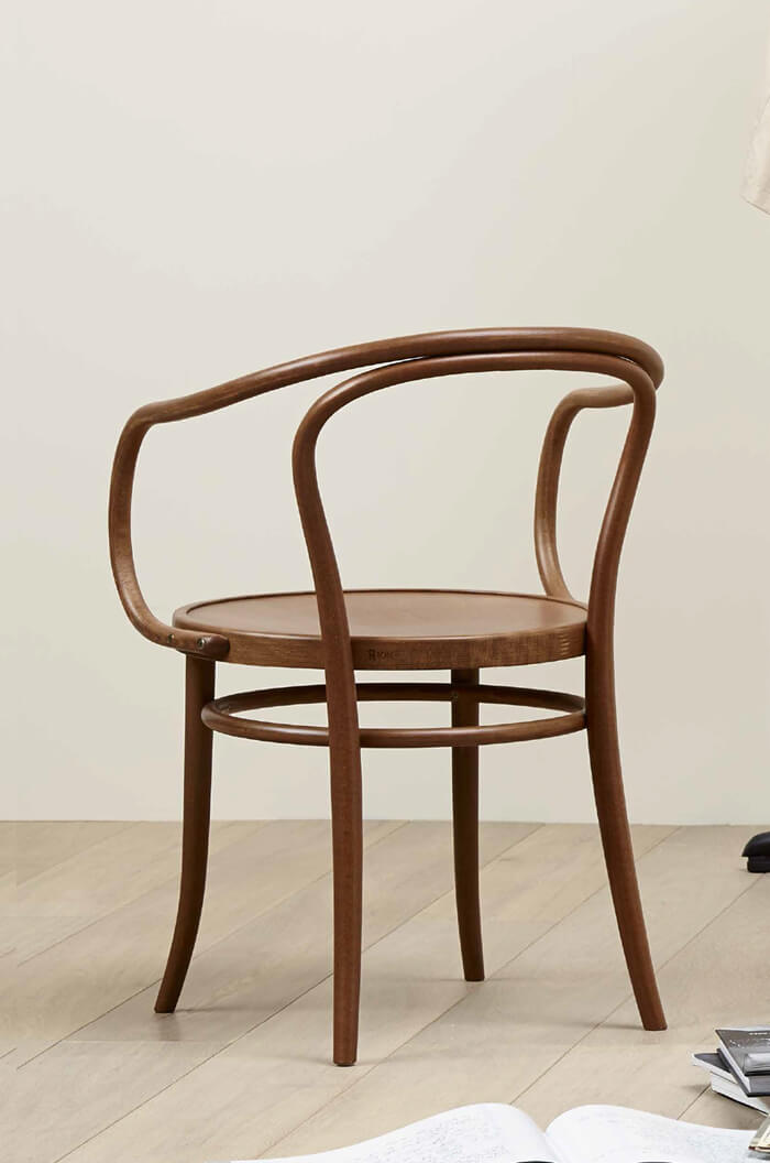 Bentwood Commercial Grade Armchair No 30 W Arms
