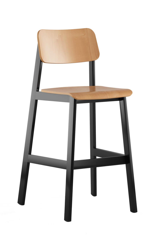 Enjoyable Sadie Ii Modern Stool With Back Uwap Interior Chair Design Uwaporg