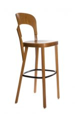 Grand Rapids Tilly Barstool with Solid European Beach Frame