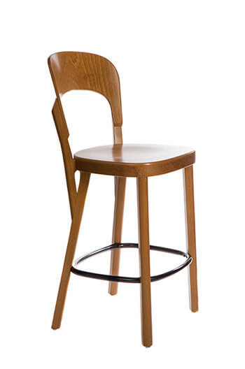 Grand Rapids Tilly Counter Stool with Solid European Beach Frame