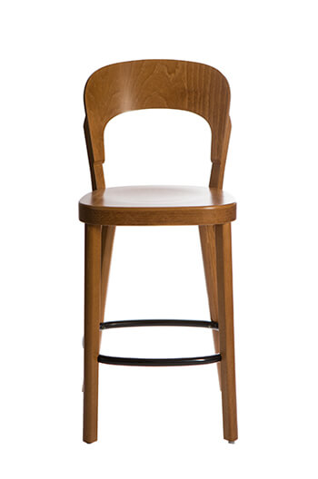 Tilly Modern Bistro Stool W European Beach Frame Free