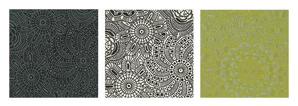 Trica Vinyl Floral Patterns