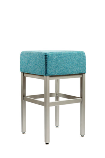 "Grand Rapids - Brent Cube 30"" Backless Barstool"