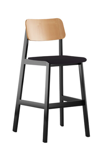 Grand Rapids - Sadie Modern Barstool with Seat Cushion