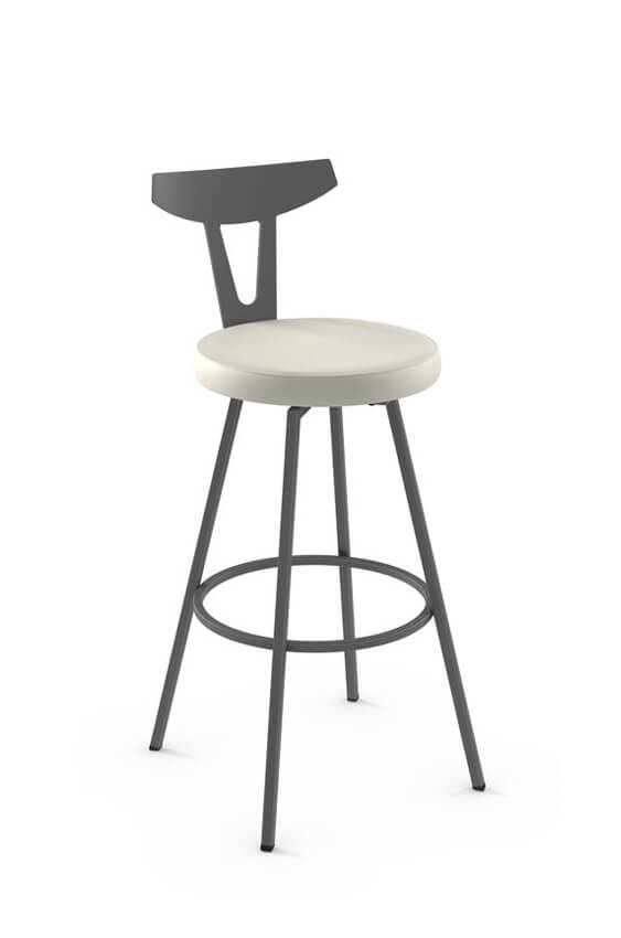Amisco Hans Nordic Swivel Stool