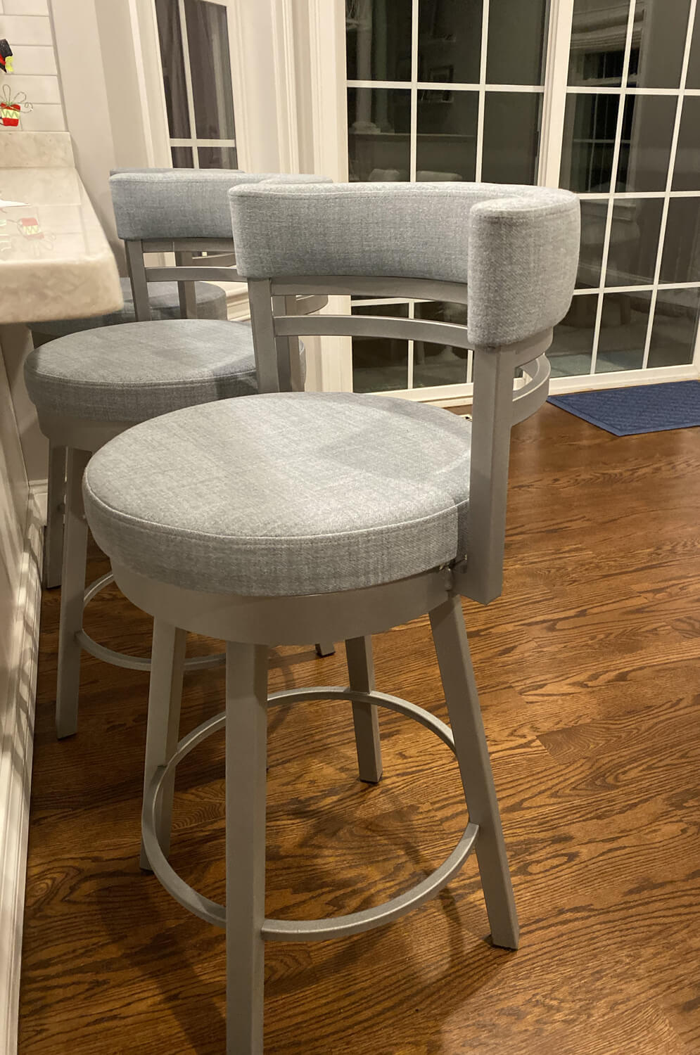 Amisco Ronny Swivel Stool Free