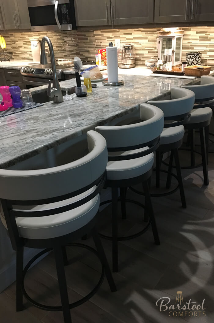 Amisco Ronny Swivel Stool Free Shipping Barstool Comforts