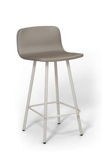 Harper 26 inch 4-Leg Stool with Upholstery