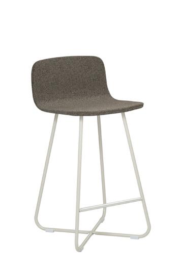Harper Modern 26 Quot X Base Upholstered Low Back Stool Free