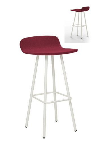 Harper Mid Century Modern 30 Inch Bar Stool Customize