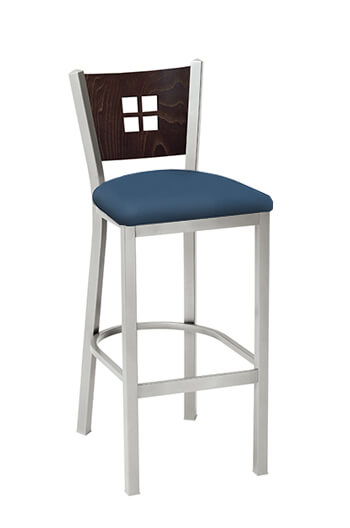 Melissa Anne Stool with Seat Cushion by Grand Rapids Chair Co.