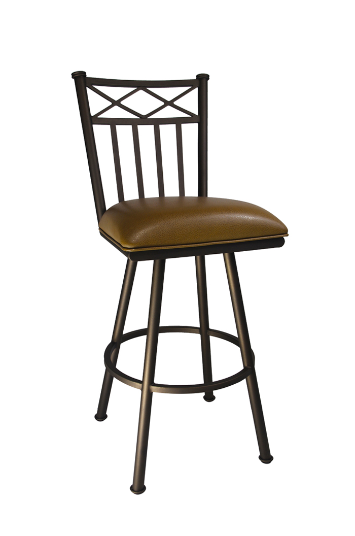 Callee Arcadia Swivel Bar Stool W Tall Back Free Shipping