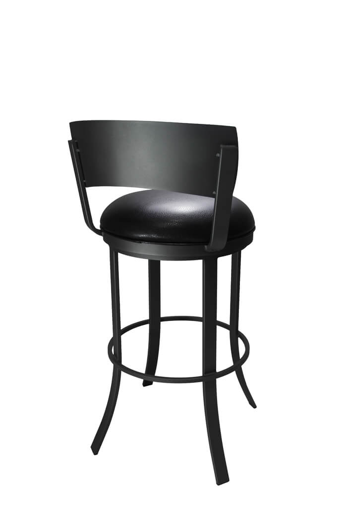 Callee Bailey Swivel Bar Stool In Dark Gray Ships Free
