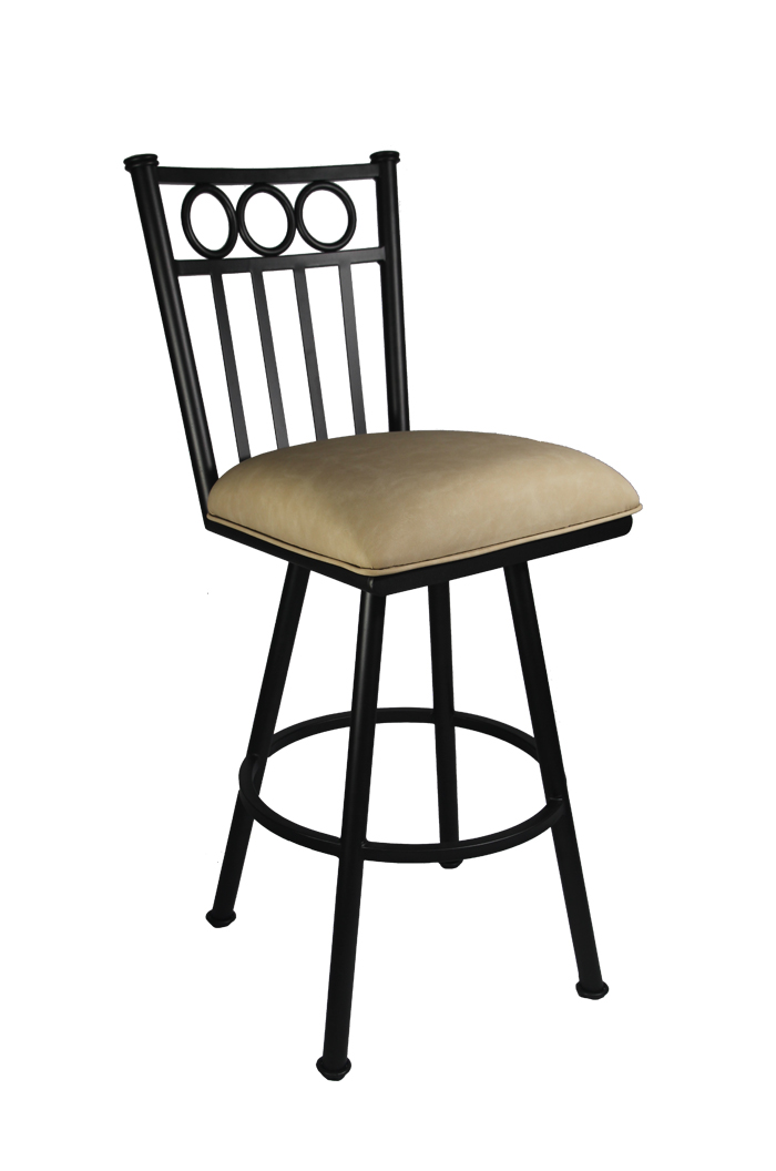 Callee Washington Swivel Stool For Transitional Kitchens