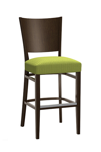 Wood Mama Melissa Stool with Seat Cushion by Grand Rapids