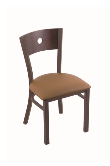 Voltaire Brown Side Chair