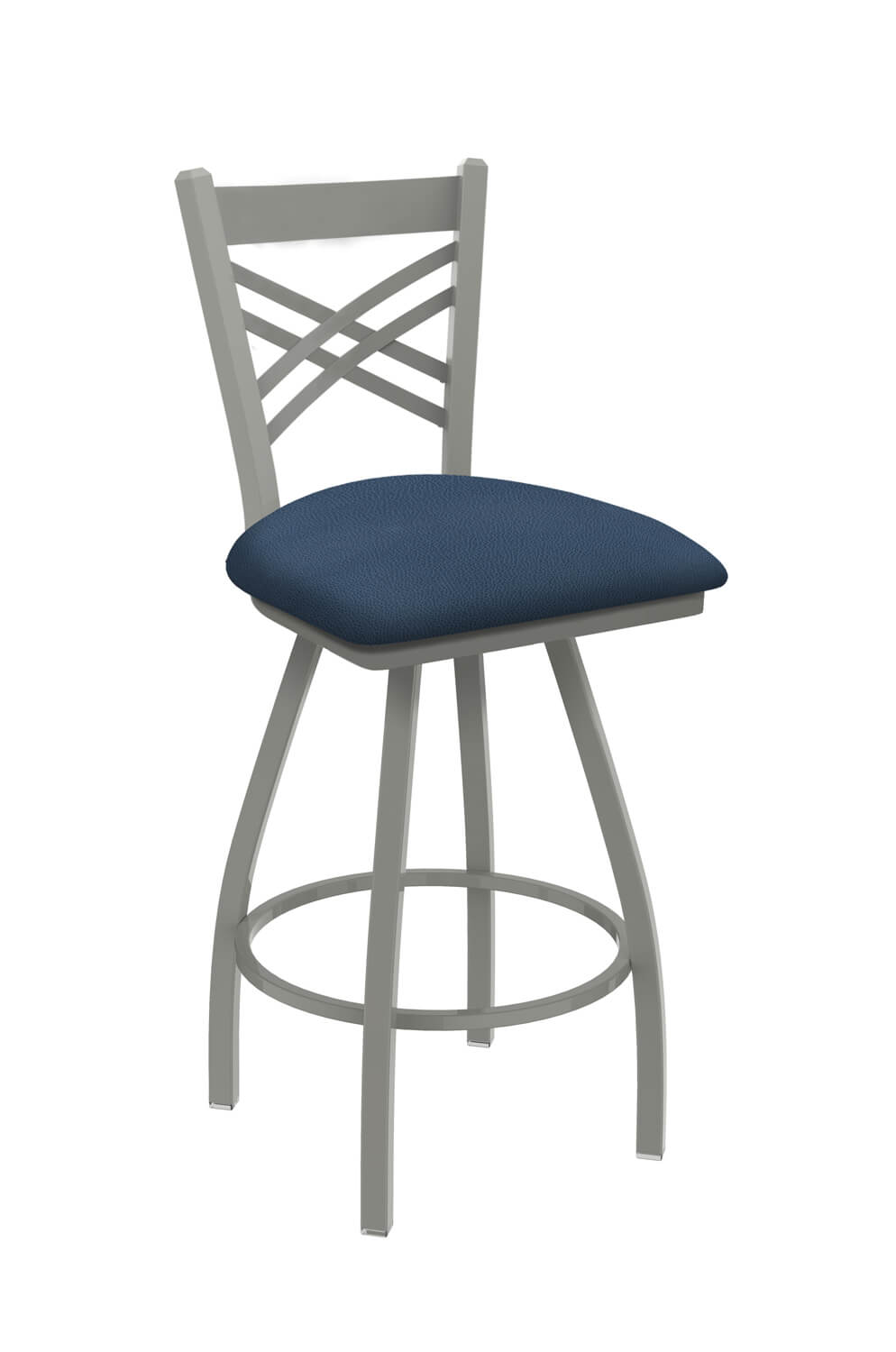 Catalina XL Swivel Stool with Back