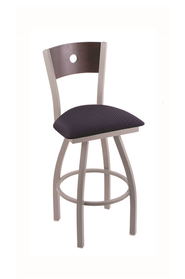 Voltaire XL Swivel Barstool for Big and Tall by Holland Bar Stool