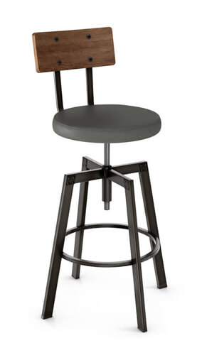Architect Screw Stool by Amisco #40263