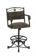 Callee's Texas Tilt Swivel Stool with Arms