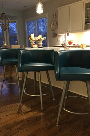 Featured Customer Photo Featuring Amisco's Radcliff Swivel Stool