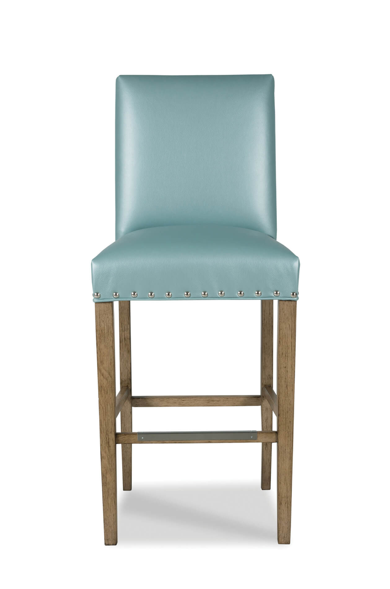 Buy Evans Upholstered Durable Wood Barstool W Back