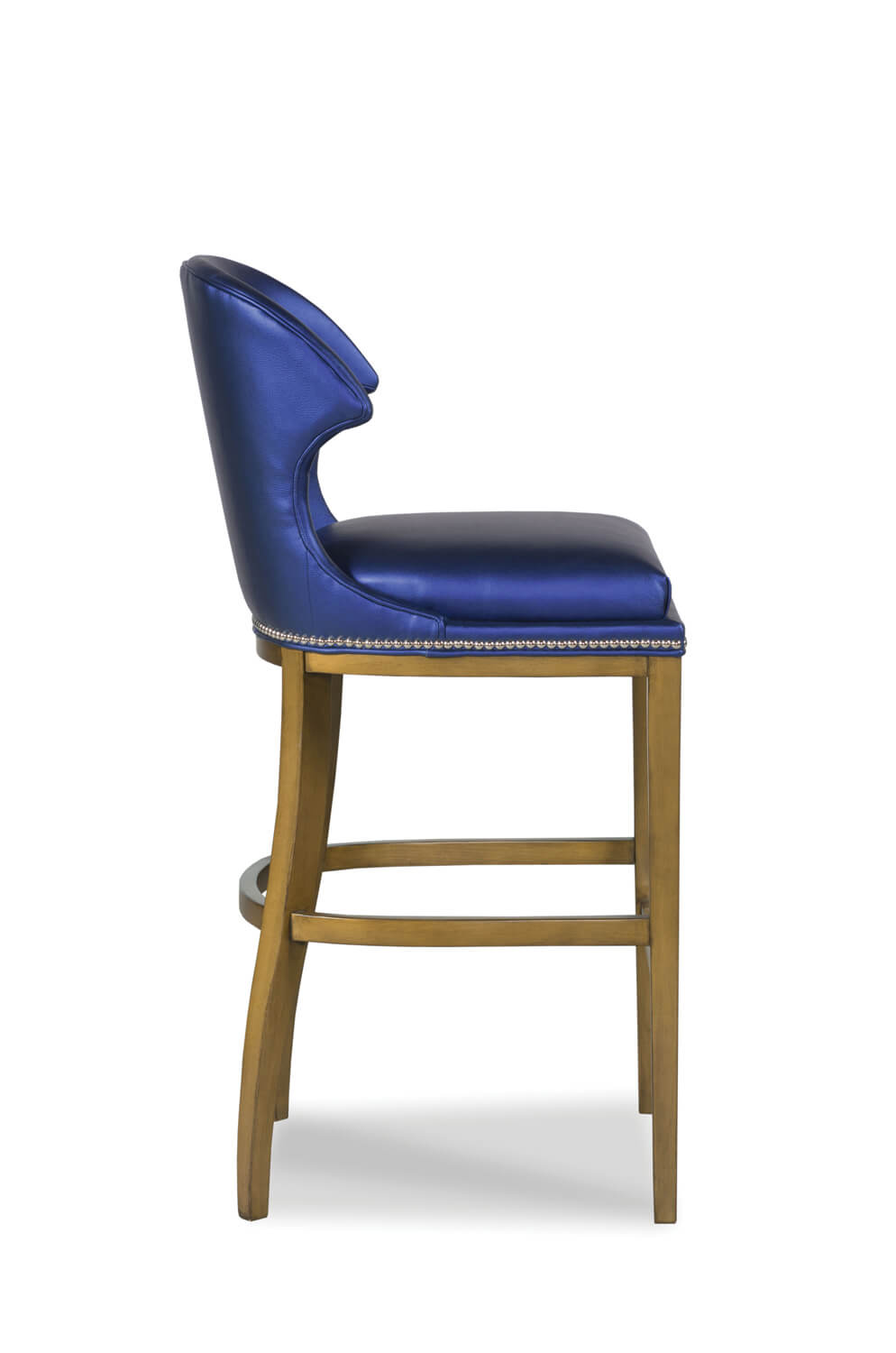 Buy Lander Wooden Wingback Bar Or Counter Stool W