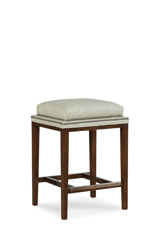 Astonishing Noah Upholstered Wooden Backless Stool Beatyapartments Chair Design Images Beatyapartmentscom