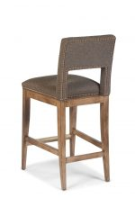 Fairfield Orleans Wooden Barstool with Back