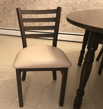 Jackie Dining Chair with Seat Cushion